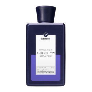 Анти-желтый шампунь HH Simonsen Anti-Yellow Shampoo для светлых серебрянных волос 250 мл